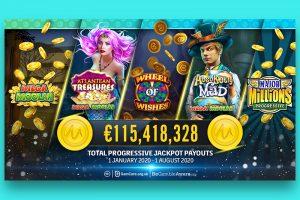 ผู้เล่น Spin Casino ได้รับแจ็คพอต€ 1.6 ล้าน
