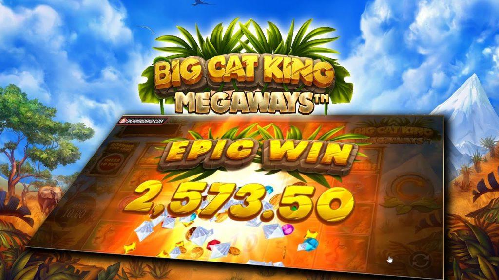 แนะนำสล็อต Big Cat King Megaways