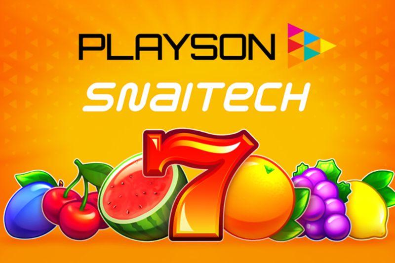 Playson เติบโตในอิตาลีด้วยดีล Snaitech