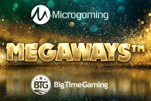 Microgaming Lauds ดีลสำหรับ Megaways