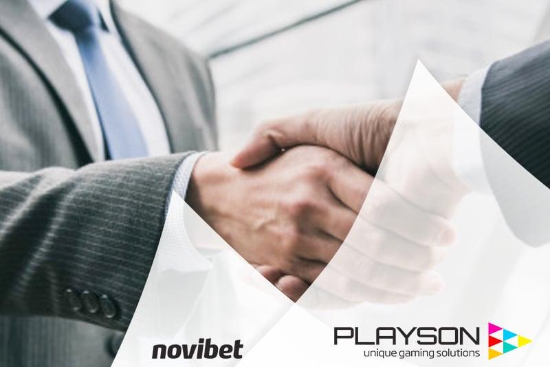 Playsonเติบโตในยุโรปด้วยNovibet Alliance