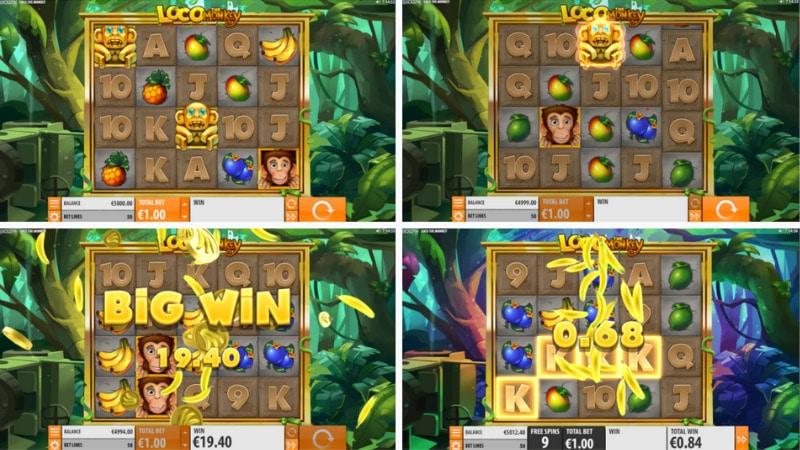 แนะนำเกมสล็อต Loco The Monkey