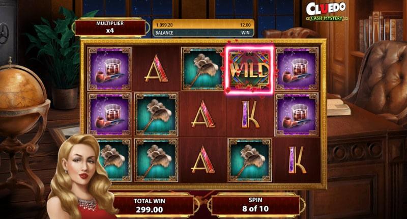 แนะนำเกมสล็อต Cluedo Cash Mystery
