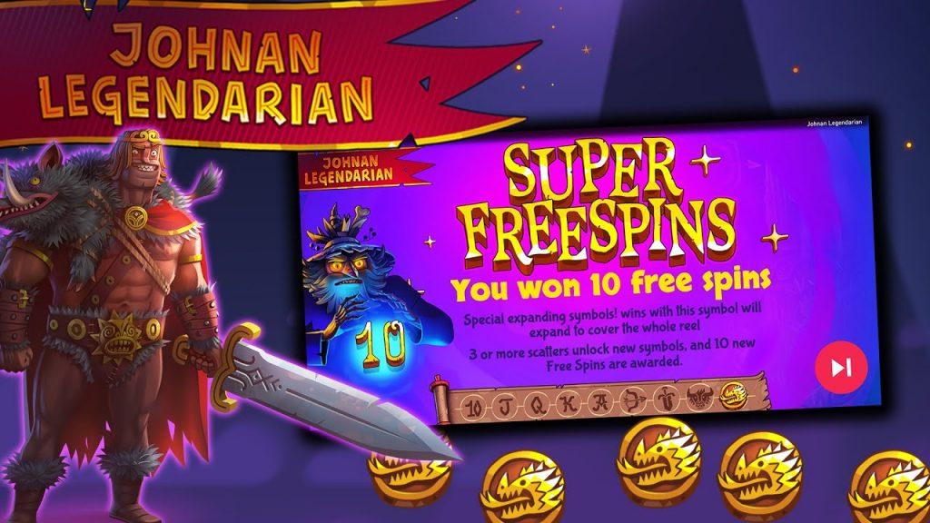 แนะนำเกมสล็อต Johnan Legendarian